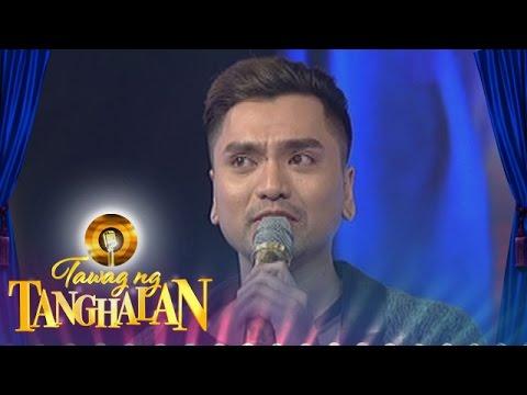 Tawag ng Tanghalan: Jex talks about his family