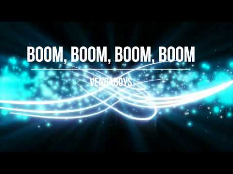 Vengaboys - Boom, Boom, Boom, Boom (Lyric Video) [HD] [HQ]