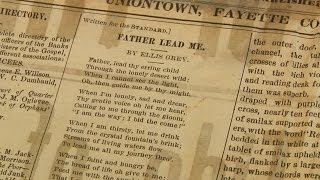 Finding Poetry Amid Historic News Pages
