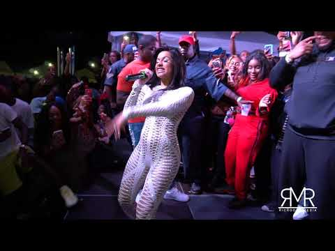 Cardi B Show in Freeport, Bahamas