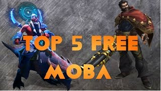 5 free MOBA games on PC