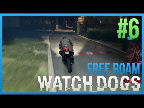 WATCH DOGS Free Roam Gameplay #6 - CRIME STOPPER (WatchDogs Single Player Free Roam) [PC 1080p]