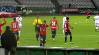 Caldas 1 vs MEDELLIN 2  Liga Aguila II 2016    Fecha # 18   estadio Palogrande