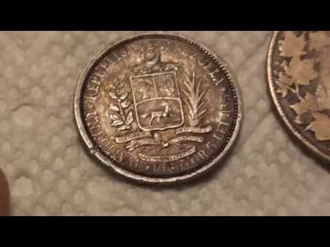 Foreign/World Coin and 90% Junk Silver finds - 2/19/15 - Coin Collecting - Numismatics with Kenny