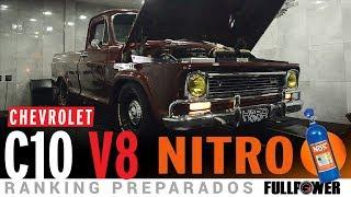 vuclip V8 NITRO!!! Chevrolet C10 animal, linda, lisa, forte no Ranking Preparados FULLPOWER