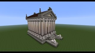 ASMR - Soft Spoken Minecraft Tutorial: Greek Temple