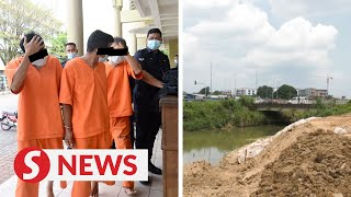 Company director, two others remanded a week over Rawang river pollution