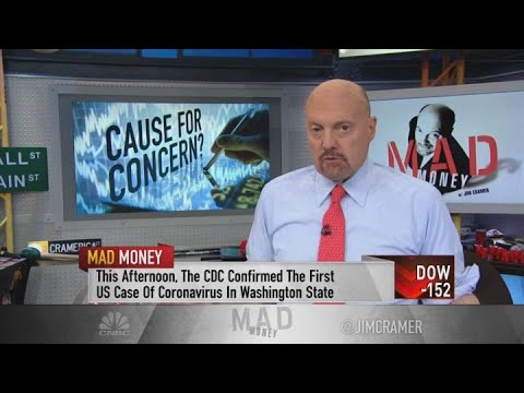 Coronavirus may induce a chance to 'buy unrelated stocks at a discount,' Jim Cramer says