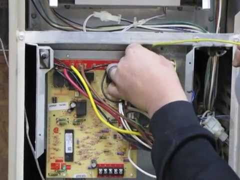 diy how to install a 83m00 surelight board on a lennox g40 furnace rh youtube com