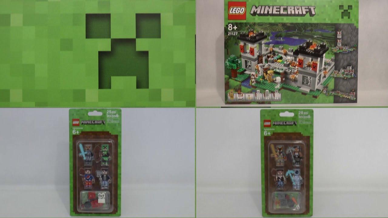 f238a1c7e NOWOŚCI WRZESIEŃ 2016 LEGO MINECRAFT - YouTube
