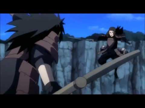 Naruto/AMV Uchiha Madara vs Hashirama Senju