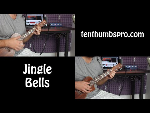 Jingle Bells - Christmas Song Ukulele Tutorial w/Melody and Tabs