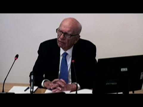 Rupert Murdoch on Phone Hacking Scandal