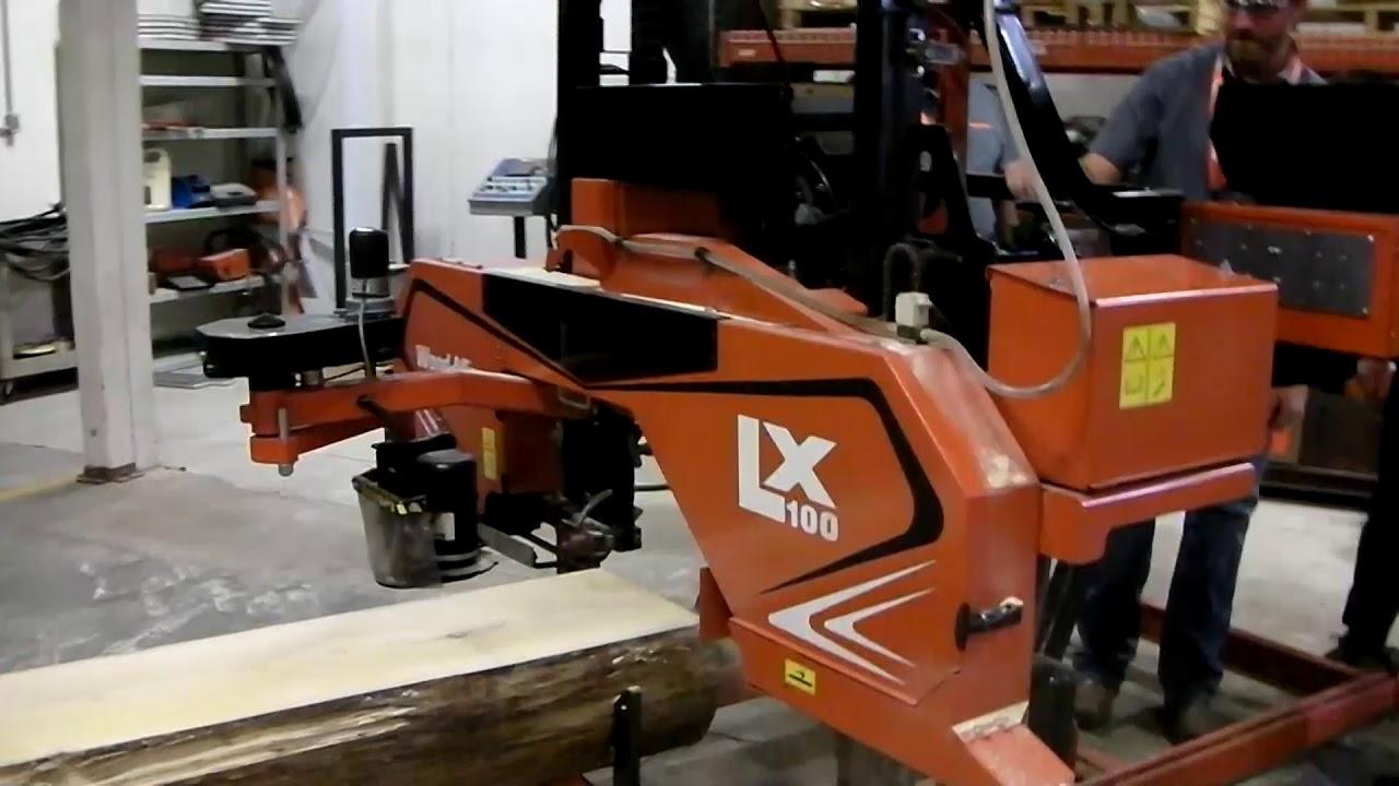 LX100 is the new heavy duty small Wood-Mizer