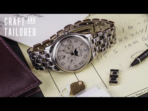 What Is On My Wrist: 2002 Patek Philippe Ref. 5036/1G 18K WG W/ Box And Papers