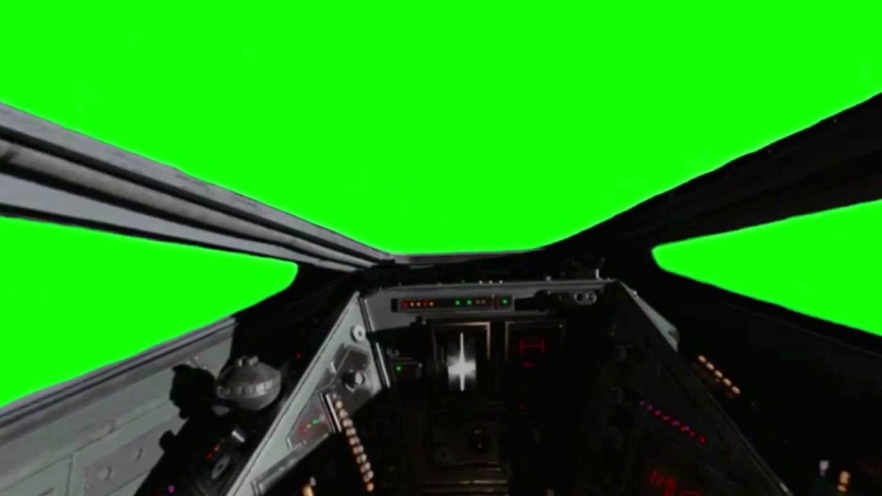 Green Screen Star Wars X Wing Cockpit Youtube