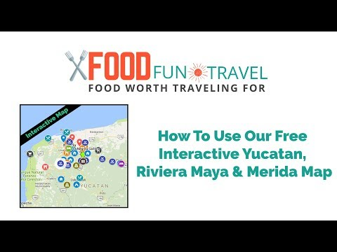 Yucatan Peninsula Map & Merida Mexico Map - How to Use Our Map