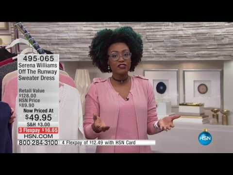 HSN | Moonlight Markdowns featuring Serena Williams Fashions 11.03.2016 - 04 AM
