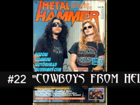 Best Metal Songs of 1990