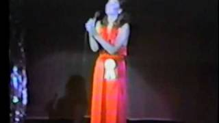 Linda Eder - Talent Performance in 1980 Miss Minnesota Pag