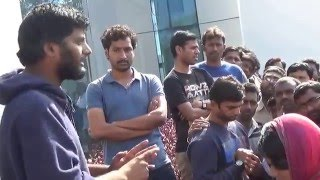 dontha prasanth appealing school of life sciences justice for rohith vemula uoh pt 74