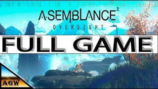 Asemblance Oversight - Full game walkthrough Gameplay & Ending (No commentary).