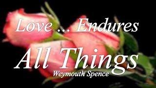 Worship Love Endures All Things
