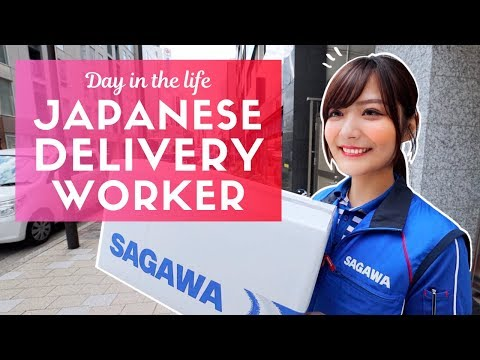 Day in the Life of a Japanese Delivery Worker