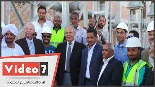 .وزير التنمية المحلية: مشروع الطاقة الشمسية بأسوان