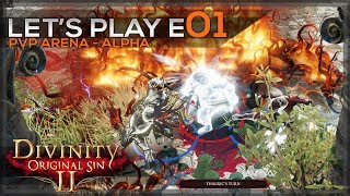 Divinity Original Sin 2 Arena Let S Play E01 PvP Early Access ThalricRekef