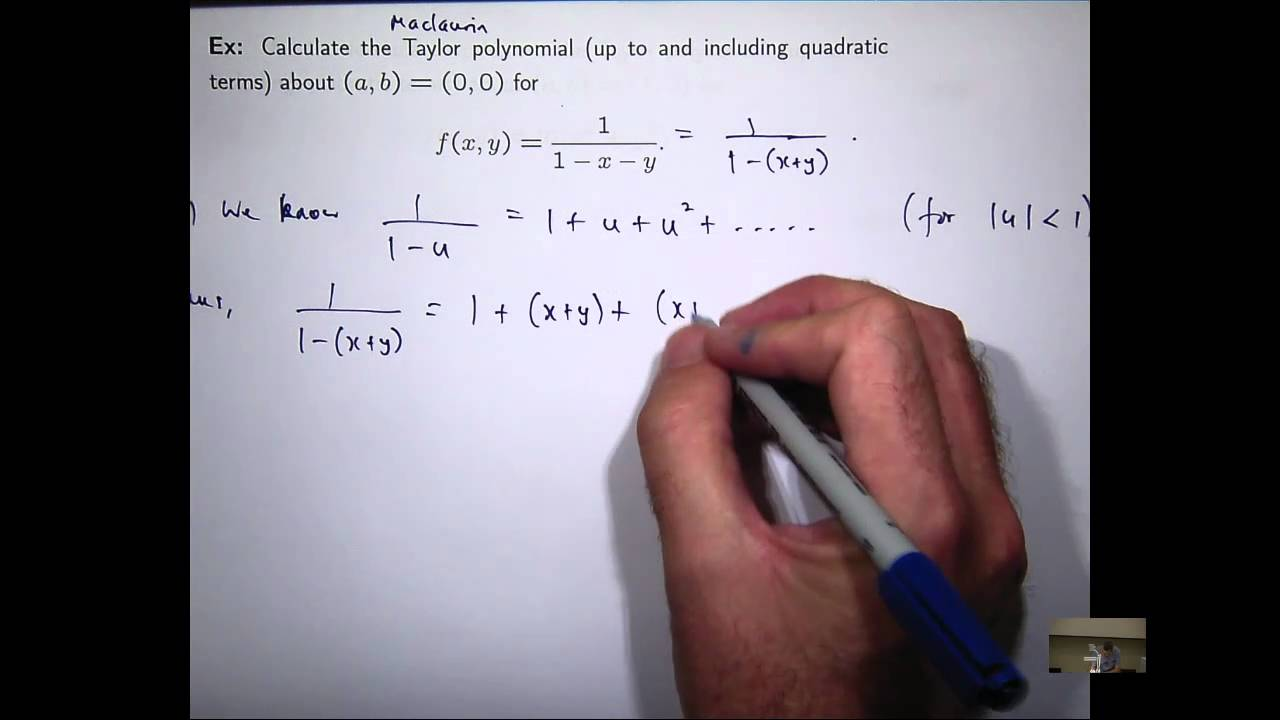 Multivariable Taylor Polynomials