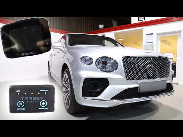 Bentley Bentayga | The Ultimate Road Safety Devices | Target Blu Eye | Road Angel Pure