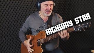 Highway Star - Deep Purple - solo acoustic guitar