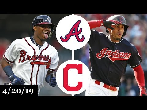 Atlanta Braves vs Cleveland Indians Highlights (Game 2) | April 20, 2019