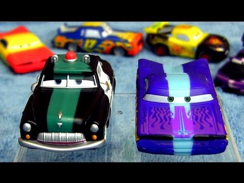 Color Changers Cars 2 Sheriff and Ramone Colour Shifters Disney