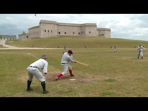 A Friendly Game Of Baseball, 1861 Style