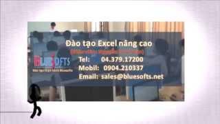 Đào tạo Excel Nâng Cao tại Bluesofts