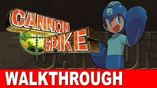 Cannon Spike (Dreamcast) - Megaman Walkthrough (VGA/60fps)