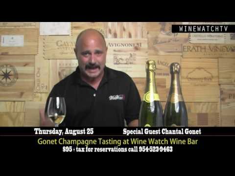 Gonet Champagne Tasting at Wine Watch Wine Bar with special guest Chantal Gonet - click image for video