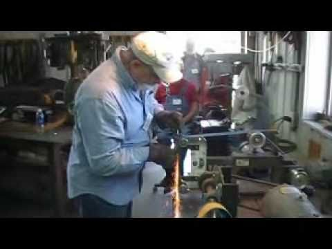 Master Smith Jim Crowell grinding tips