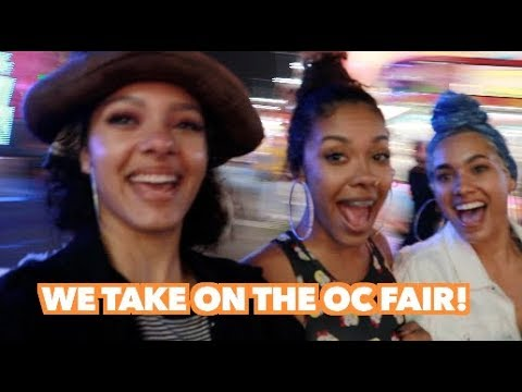 WE WENT TO THE OC FAIR!  🎡 ✨