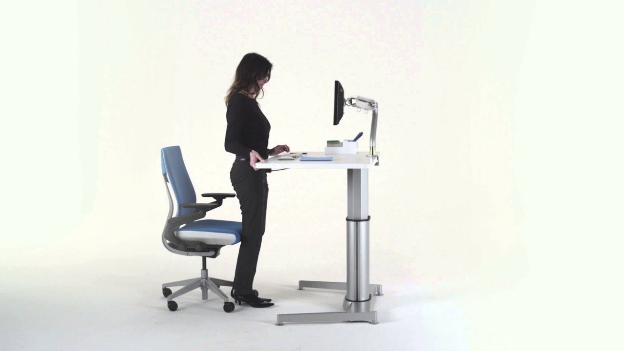 Airtouch Height Adjustable Table User Adjustment Video