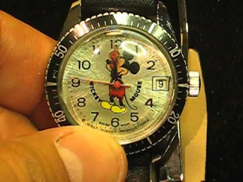 Bradley Mickey Mouse Watch