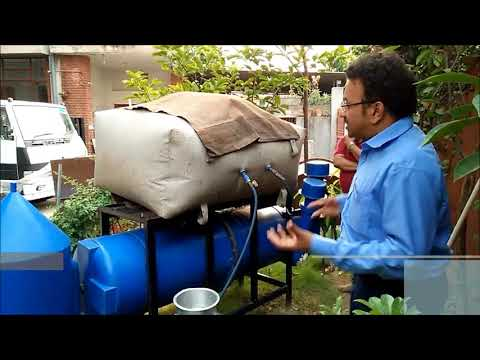 Domestic Biogas Reactor by CbS | converts kitchen waste into biogas & bio fertilizer