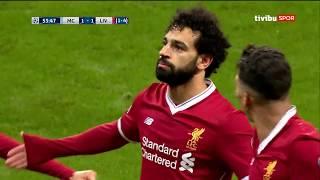 Manchester City 1-2 <b>Liverpool</b>   UEFA Şampiyonlar Ligi Çeyrek Final ...