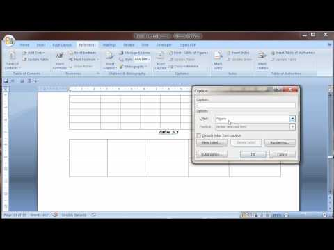Dissertation Template TOC Basics