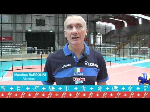 Nazionale Femminile di Volley: Kinder+Sport intervista Massimo Barbolini