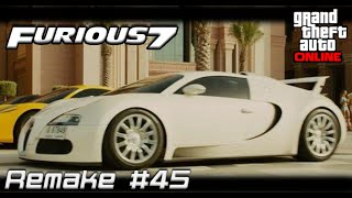 Furious 7 - Roman's 2011 Bugatti Veyron (GTA Online Truffade Adder)