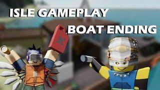 Isle boat ending!!! (roblox)