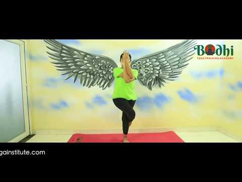 How to do Eagle Pose (Garudasana) & It's benefits Bodhi Yoga Training Academy